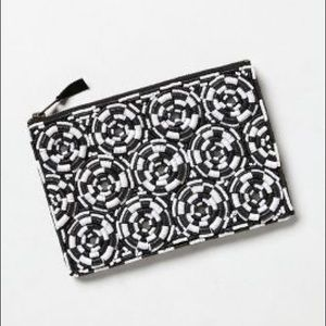 NWOT Anthropologie Sequin Pouch!!